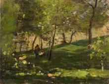 Vittorio Avondo, Nel bosco