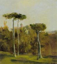 Avondo, Paesaggio italiano con convento su una collina.jpg