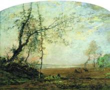Avondo, Paesaggio lacustre con pastore.png