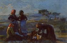 Cristiano Banti, Donne che lavorano