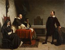 Cristiano Banti, Galileo Galilei davanti al Tribunale dell'Inquisizione