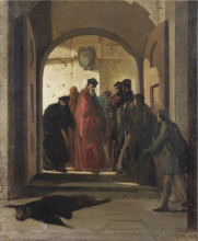 Cristiano Banti, Il ritrovamento del cadavere di Lorenzino de' Medici