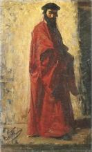 Cristiano Banti, Studio per 'Il ritrovamento del cadavere di Lorenzo dei Medici'