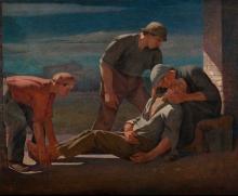 Angelo Barabino, La pietà
