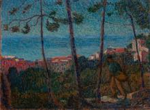 Angelo Barabino, Paesaggio ligure