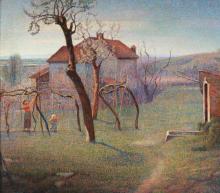Angelo Barabino, Primavera nella campagna di Tortona