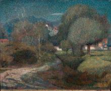 Angelo Barabino, Villa a Giaveno