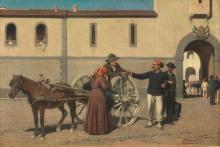 Cesare Bartolena, La partenza del soldato