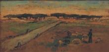 Bartolena Giovanni, Paesaggio [1930 circa-1940 circa].jpg