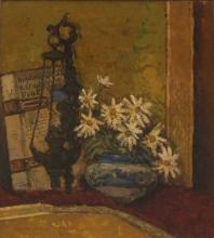 Bartolena Giovanni, Vaso con margherite.jpg