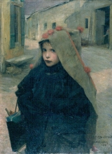 Bastien-Lepage, Bambina che va a scuola.jpg