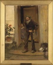 Bastien-Lepage, Il mendicante [1][cornice].jpg