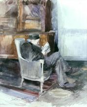 Jules Bastien-Lepage, Il nonno che legge il giornale | Le grand-père lisant le journal