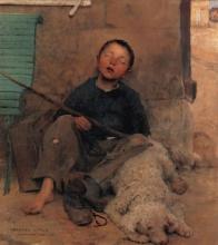 Bastien-Lepage, Il piccolo venditore ambulante.jpg