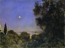 Jules Bastien-Lepage, Il sorgere della luna ad Algeri | Lever de lune à Alger
