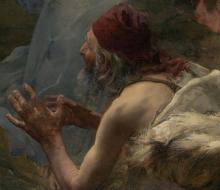 Bastien-Lepage, L'Annunciazione ai pastori [dettaglio 1].png