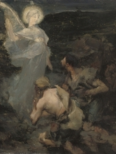Bastien-Lepage, L'Annunciazione ai pastori [studio].jpg