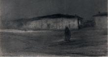 Bastien-Lepage, La piazza di Damvillers al crepuscolo.png