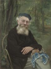 Jules Bastien-Lepage, Ritratto del nonno dell'artista | Portrait du grand-père de l'artiste