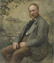 Jules Bastien-Lepage, Ritratto del padre dell'artista   Portrait du père de l'artiste