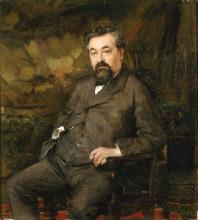 Bastien-Lepage, Ritratto di Joseph Liouville | Portrait de Joseph Liouville | Portrait of Joseph Liouville