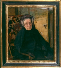 Bastien-Lepage, Ritratto di Madame Waskiewicz   Portrait de Madame Waskiewicz   Portrait of Madame Waskiewicz