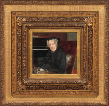 Bastien-Lepage, Ritratto di Madame Waskiewicz | Portrait de Madame Waskiewicz | Portrait of Madame Waskiewicz