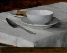 Bastien-Lepage, Servizio da colazione.jpg