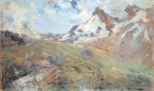 Leonardo Bazzaro, Alta montagna