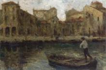 Leonardo Bazzaro, Barca a Chioggia | Boat in Chioggia