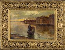 Leonardo Bazzaro, Barca a Chioggia