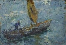 Leonardo Bazzaro, Barca a vela