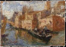 Leonardo Bazzaro, Canale a Chioggia
