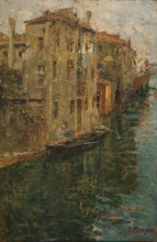 Leonardo Bazzaro, Canale di Chioggia