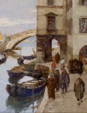 Leonardo Bazzaro, Chioggia [dettaglio]