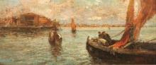 Leonardo Bazzaro, Chioggia, in laguna