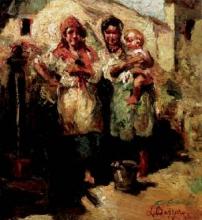 Leonardo Bazzaro, Famiglia a Cogne