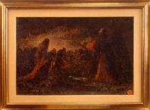 Leonardo Bazzaro, Gesù Cristo con gli apostoli