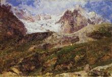 Leonardo Bazzaro, Il Cervino visto da Valtournenche | Mount Cervino seen from Valtournenche
