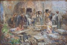Leonardo Bazzaro, Il mercato dell'orecchio a Chioggia
