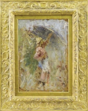 Leonardo Bazzaro, L'ombrellino