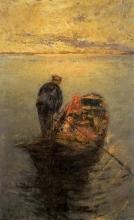 Leonardo Bazzaro, La famiglia del pescatore