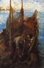 Leonardo Bazzaro, La pesca delle mollucche
