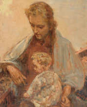Leonardo Bazzaro, Madonna del Mare [dettaglio]