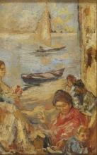 Leonardo Bazzaro, Mammine a Chioggia