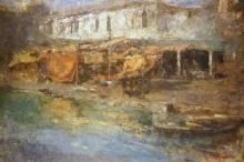 Leonardo Bazzaro, Mercato a Chioggia