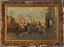 Leonardo Bazzaro, Pescivendoli a Chioggia