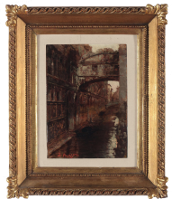 Leonardo Bazzaro, Ponte dei Sospiri