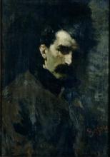 Leonardo Bazzaro, Ritratto del musicista Alfredo Catalani