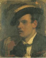 Leonardo Bazzaro, Ritratto di giovane uomo